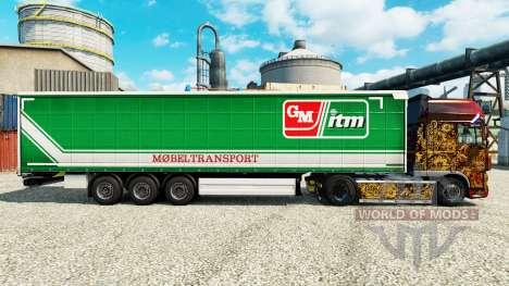 Skin GM itm Mobeltransport for trailers for Euro Truck Simulator 2