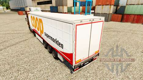 Skin Coop on trailers for Euro Truck Simulator 2