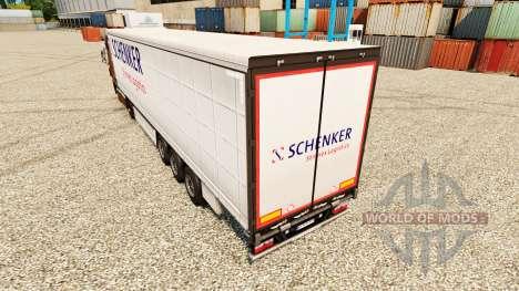 Skin Schenker Stinnes Logistics for trailers for Euro Truck Simulator 2