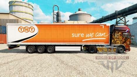 Skin TNT Express semi for Euro Truck Simulator 2