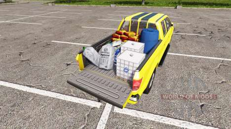 Lizard Pickup TT Service v1.2 for Farming Simulator 2017