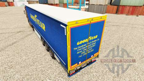 Skin Good Year for trailers for Euro Truck Simulator 2