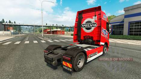 Heavy Haulage skin for Volvo truck for Euro Truck Simulator 2
