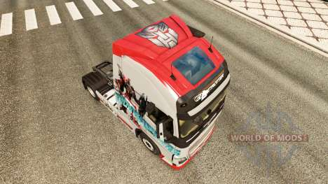 Transformers skin for Volvo truck for Euro Truck Simulator 2