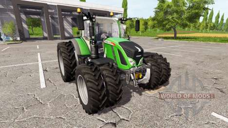 Fendt 724 Vario dual wheels for Farming Simulator 2017
