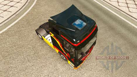 Pirelli skin for truck Mercedes-Benz for Euro Truck Simulator 2