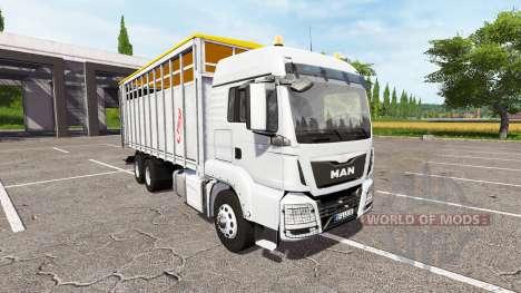 MAN TGS 18.440 animal for Farming Simulator 2017
