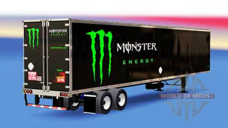 Semi-trailer with different colors for American Truck Simulator