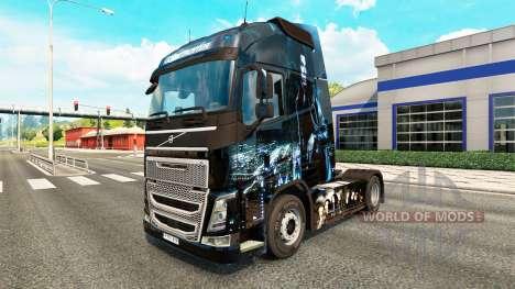 Underworld skin for Volvo truck for Euro Truck Simulator 2
