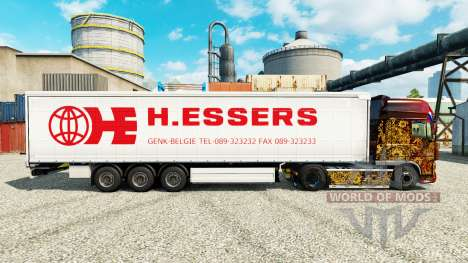 H. Essers skin for trailers for Euro Truck Simulator 2