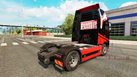 Puma skin for Volvo truck for Euro Truck Simulator 2