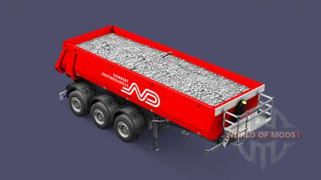 Semi-trailer tipper Schmitz Norbert for Euro Truck Simulator 2