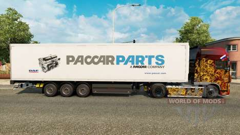Skin Paccar Parts for trailers for Euro Truck Simulator 2