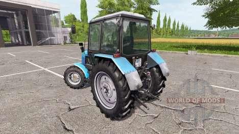 MTZ-Belarus 1025 v2.0 for Farming Simulator 2017