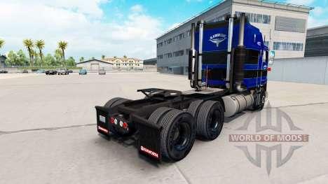 Skin on Rawhide Trucking LLC truck tractor Kenwo for American Truck Simulator