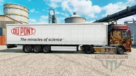 Skin Du Pont for trailers for Euro Truck Simulator 2