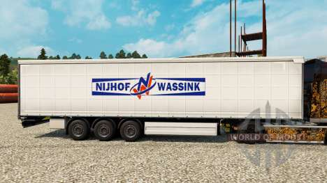 Skin Nijhof Wassink on semi for Euro Truck Simulator 2