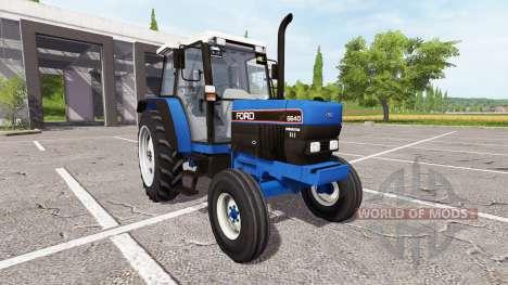 Ford 6640 for Farming Simulator 2017