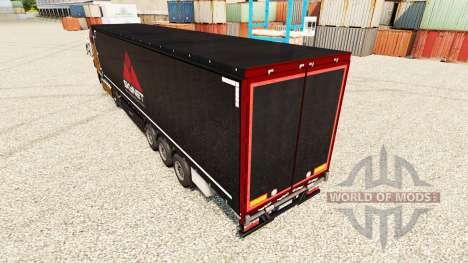 Skynet skin for trailers for Euro Truck Simulator 2