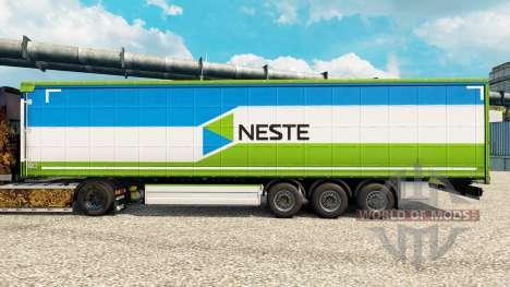 Neste skin for trailers for Euro Truck Simulator 2