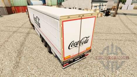Skin Coca-Cola semi for Euro Truck Simulator 2