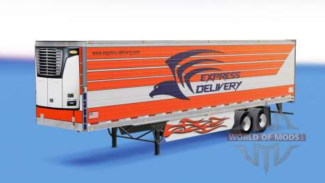 Skin Express Delivery for trailers for American Truck Simulator