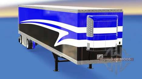 The semitrailer-the refrigerator for American Truck Simulator