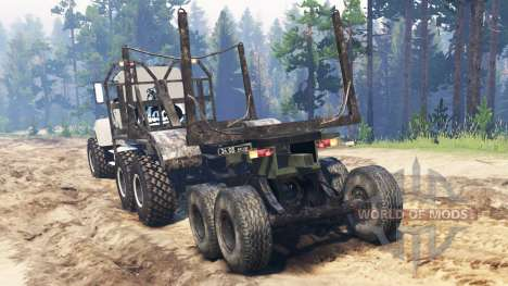 Mack M650 for Spin Tires