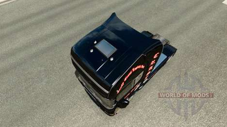 Skin Crasy Trans Logistic v2.0 truck Scania for Euro Truck Simulator 2