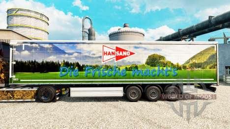 Han Sano skin for trailers for Euro Truck Simulator 2