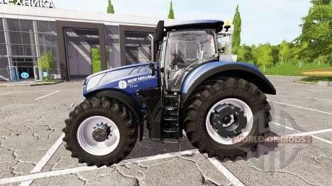 New Holland T7.290 heavy duty for Farming Simulator 2017