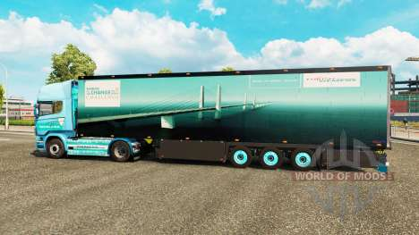 Semitrailer refrigerator Schmitz Siemens for Euro Truck Simulator 2