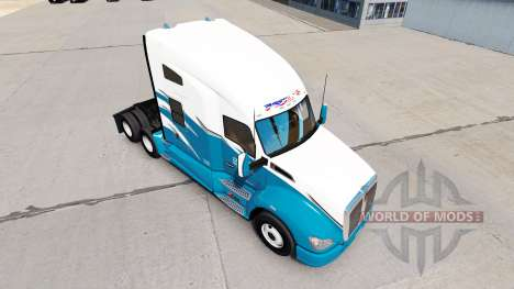 Phils Transport skin for Kenworth T680 tractor for American Truck Simulator