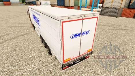 Skin ComoTrans for trailers for Euro Truck Simulator 2