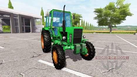 MTZ-82 Belarus v2.0 for Farming Simulator 2017