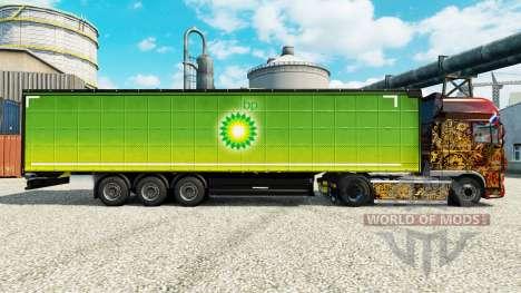 Skin BP on semi for Euro Truck Simulator 2