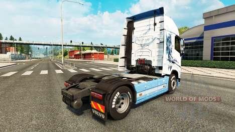The Vaya con Dios skin for Volvo truck for Euro Truck Simulator 2