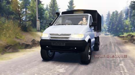 UAZ 23602 for Spin Tires