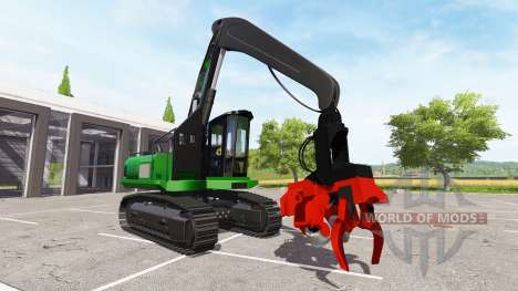 Excavator-harvester dangle for Farming Simulator 2017