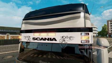 Sun visor Scania v2.0 for Euro Truck Simulator 2