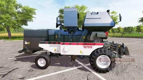 Rostselmash SK-5МЭ-1 Niva-Effect for Farming Simulator 2017