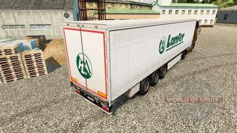 Skin Lanfer Logistics for trailers for Euro Truck Simulator 2