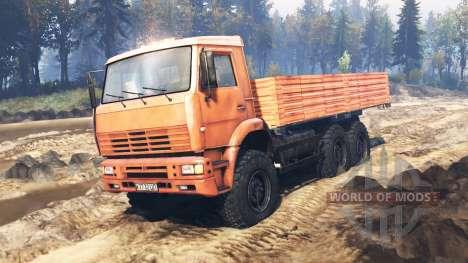 KamAZ-6522 v9.0 for Spin Tires