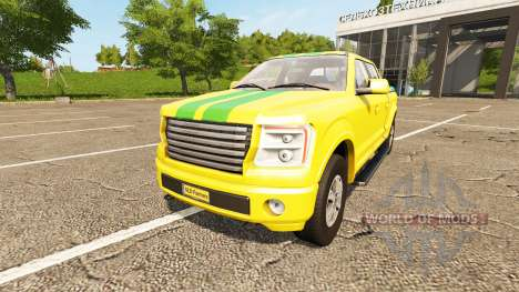 Lizard Pickup TT Service v1.1 for Farming Simulator 2017