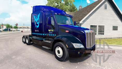 Mystic skin for the truck Peterbilt 579 for American Truck Simulator