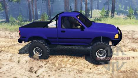 Toyota Hilux 1989 for Spin Tires