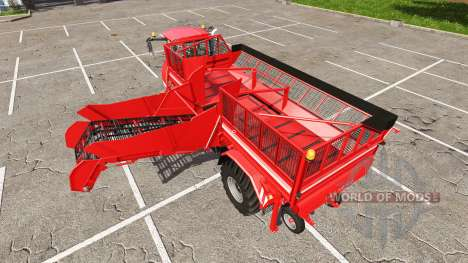 HOLMER Terra Variant 600 eco [pack] for Farming Simulator 2017