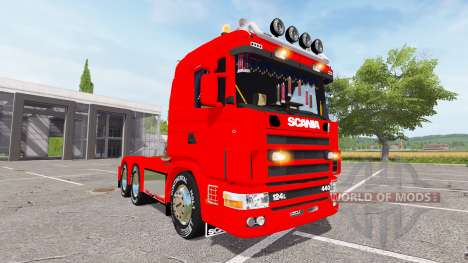 Scania 124L 440 agrar 6x4 for Farming Simulator 2017