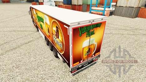 Skin Velkopopovicky Kozel for trailers for Euro Truck Simulator 2
