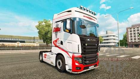 Dukes Transport skin for Scania R700 truck for Euro Truck Simulator 2